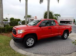 2014 used toyota tundra double cab 4 6l v8 6 spd at sr natl at