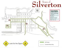 Map Of Colorado Cities And Towns Ohv U0026 Atv Info Town Of Silverton