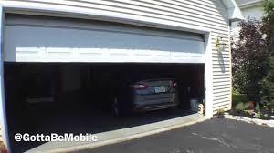 Garage Door Openers Review by Chamberlain Wifi Garage Door Opener Review Youtube
