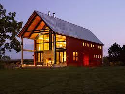 farm decor ideas exterior farmhouse with red barn metal roof metal