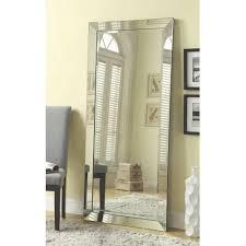 mirrors walmart com coaster company silver beveled mirror loversiq