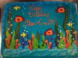 9 Best Birthday Cake Ideas Images On Pinterest Under The Sea