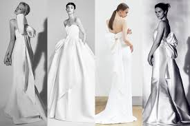 wedding dress trend 2018 10 refreshing wedding trends seen at bridal week 2018