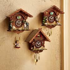 Cuckoo Clock Heart Owl Mini Cuckoo Clock National Geographic Store