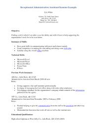 cover letter sample resume for medical secretary sample resume