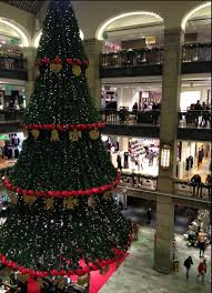 the stockholm tourist christmas at the nk department store