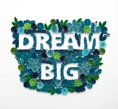 dream big motivational poster wall art home decor paper art framed