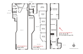 beauty salon floor plans package deal 119 121 greenpoint ave greenpoint ny 11222