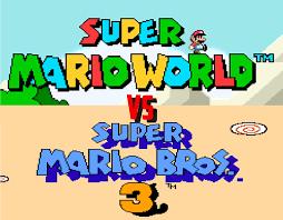 Super Mario World Level Maps by Super Mario World Vs Super Mario Bros 3