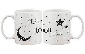 His And Hers Mug I Love You To The Moon And Back Couple Mugs His And Hers Matching Cu