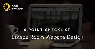 website to design a room nowescape blog escape room puzzles sales and marketing tips
