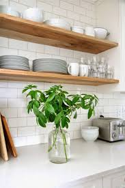 Open Shelf Kitchen by Best 25 Shelves For Kitchen Ideas On Pinterest Shelves For