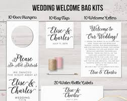 welcome bags for weddings view welcome bag kits by designedbyme on etsy