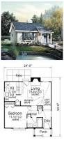 house plan 86955 total living area 576 sq ft 1 bedroom u0026 1