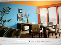 Teal And Red Living Room by This Split Complementary Room Consists Of Blue Yellow Orange And