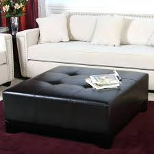Black Microfiber Ottoman Black Ottoman Coffee Table Black Ottoman Coffee Table Square Black