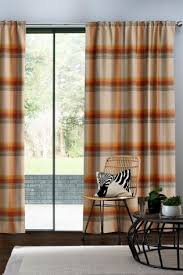 Burnt Orange Curtains Orange Curtains Orange Blackout Lined Eyelet Curtains Next