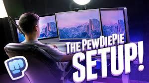 the ultimate youtube setup pewdiepie setup tour youtube