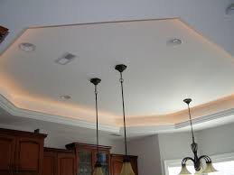 tray ceiling lighting tray ceiling lights reflect the surface for