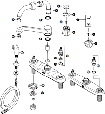 price pfister kitchen faucet parts diagram price pfister 35 series kitchen faucet schematic az