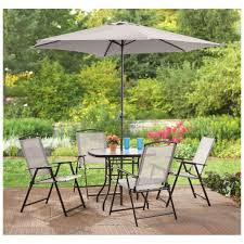 Patio Furniture Set With Umbrella Outdoor Garden The Home Bahia Finish Wicker Patio Furniture