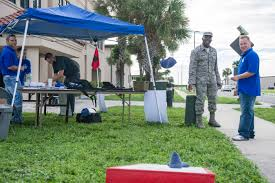 Canopy Photo Booth by Time To Prepare 45th Space Wing Promotes National Preparedness