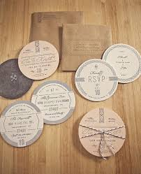 a showcase of creative wedding invitations