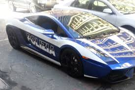 american police lamborghini this polizia lamborghini has been pulled over ticketed repeatedly