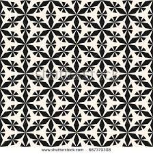 vector seamless pattern ornament abstract geometric stock vector