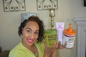 3c hair shape eco styler wash go on short transitioning 3b 3c hair 5 step