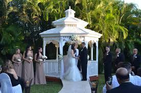 Outdoor Wedding Gazebo Decorating Ideas Miami Banquet U2022hallscatherine U0026 Rolando Gazebo Ceremony