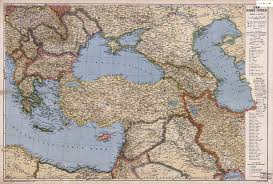 Political Map Asia by Large Scale Detailed Old Political Map Of Turkey And Neighboring