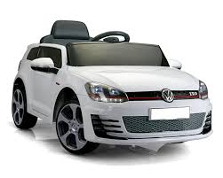 volkswagen car white volkswagen golf gti white electric ride on car electric ride