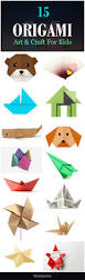 top 15 paper folding or origami crafts for kids origami art