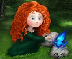young princess merida brave clari3 deviantart