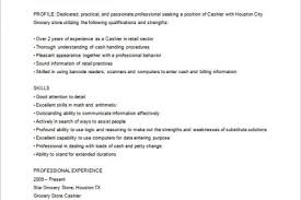 Restaurant Cashier Resume All Resumes Grocery Store Cashier Resume Free Resume Cover And