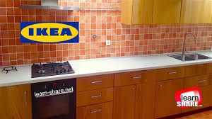 ikea metod kitchen installation in 10 minutes youtube