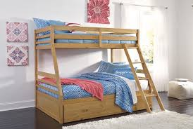 Bunk Beds And Mattress Hallytown Bunk Bed With Ladder Storage B324 58p 58r