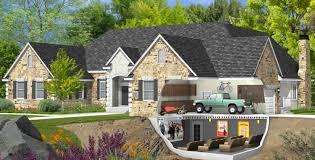 basement garage house plans basement garage spancrete cost basement gallery