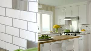White Kitchen Tile Backsplash Kitchen Backsplash Ideas
