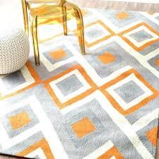 Orange Area Rug Gray And Orange Area Rug S Bed Grey Orange Area Rug Thelittlelittle
