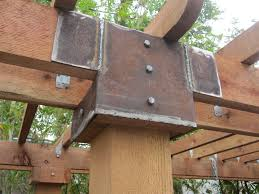 Pergola Roof Brackets by Landscaping U2013 Pergola At The End Of A Pool Ravenscourt Gardens