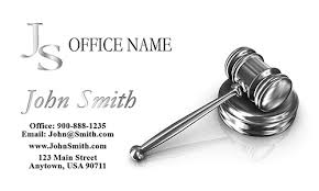 Lawyer Business Card Design Public Interest Lawyer Business Card Design 401271