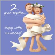 2nd wedding anniversary 2nd wedding anniversary card co uk office products