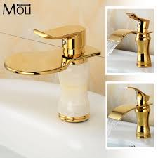 Gold Faucet Bathroom by Gold Faucet Waterfall Promotion Shop For Promotional Gold Faucet