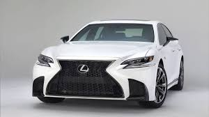 lexus sport tuned suspension 208 lexus ls 500 f sport debuts at the new york international auto