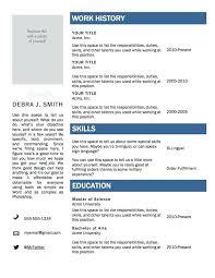 Free Resume Template Mac by Best Free Resume Builder Sle Resume Template Free