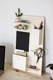 Desk Wall Organizer Diy Wood Wall Organizer Pinteres
