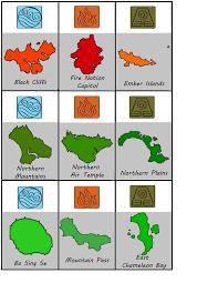 Avatar The Last Airbender Map Avatar The Last Airbender Risk