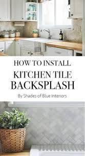 super simple diy tile backsplash simple diy bricks and metals